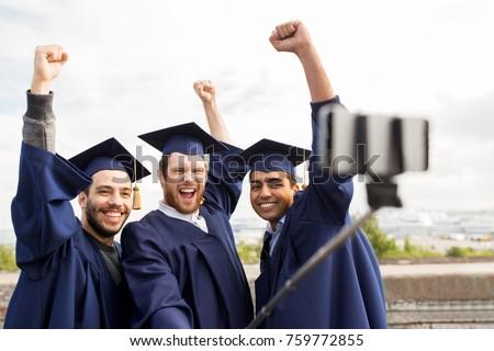 幸せ 男性 学生 画像 スティック ストックフォト © dolgachov