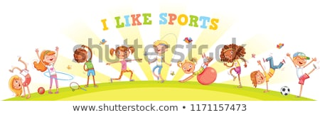 kids engaging in different sports stock photo © colematt