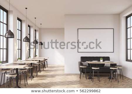 Cafe and Coffee Shop Interior, Restaurant Floor Stock photo © robuart