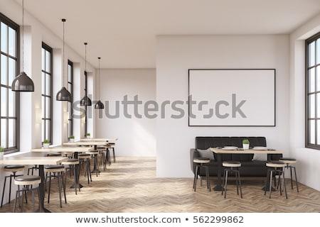 coffeeshop · interieur · cafe · restaurant · beker · espresso - stockfoto © robuart