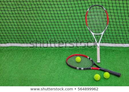 2 · テニス · アクティブ · 幸せ · 女性 - ストックフォト © pressmaster