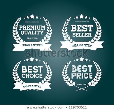 Prémium választás csillag forma díj legjobb Stock fotó © robuart