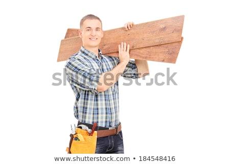 男 · バイス · 安全 · 木材 · 金属 · 大工 - ストックフォト © photography33
