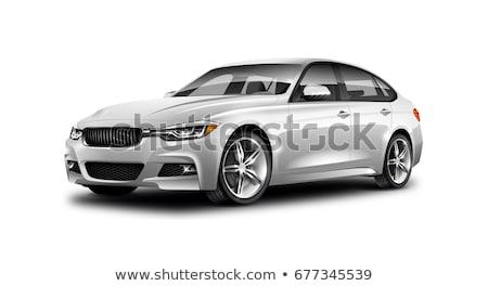 3D · pneu · isolado · branco · disco · carro - foto stock © Nobilior