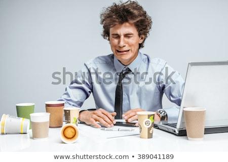 бизнесмен · плачу · горе · менеджера · Постоянный · вертикальный - Сток-фото © photography33