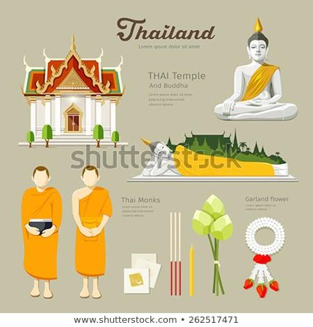 Incienso templo Tailandia Asia Asia Foto stock © travelphotography