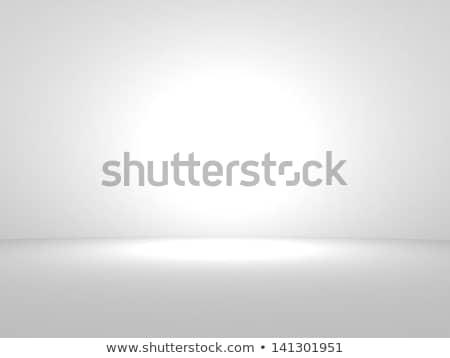 witte · vierkante · tentoonstelling · stand · geïsoleerd · 3d · render - stockfoto © tashatuvango