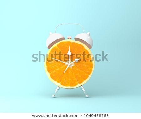 Cél idő szó szín papír üzlet Stock fotó © Ansonstock