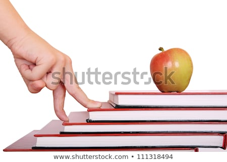 Successful child moving up in school grades Stock photo © stockyimages