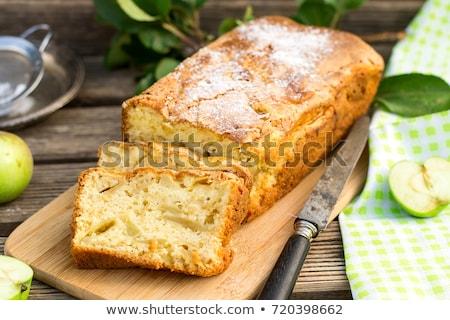 Lezzetli elma kek Stok fotoğraf © doupix