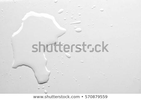 öreg · vízcsap · beton · fal · fém · rozsda - stock fotó © hofmeester