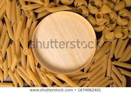 Snail shape Italian pasta texture Stock photo © lunamarina