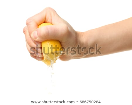 squeezed out lemon Stock photo © mikdam