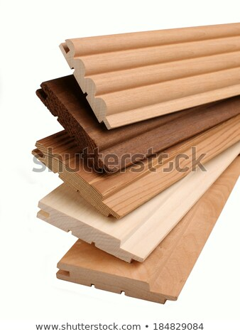 Clean cut skirting boards stock photo © ChilliProductions