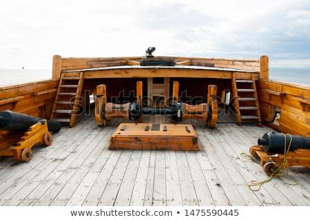 Old Wooden ship  Stock photo © smuki