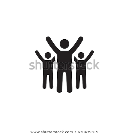 way to success icon business concept flat design stock photo © wad