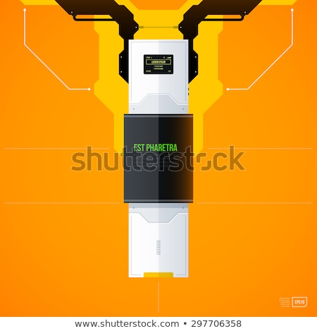 electronic gadget label for design stock photo © netkov1