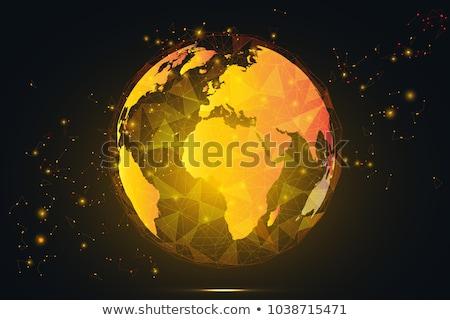 yellow globe Stock photo © jarin13