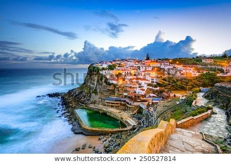 Portugal ocean shore architecture Stock photo © joyr
