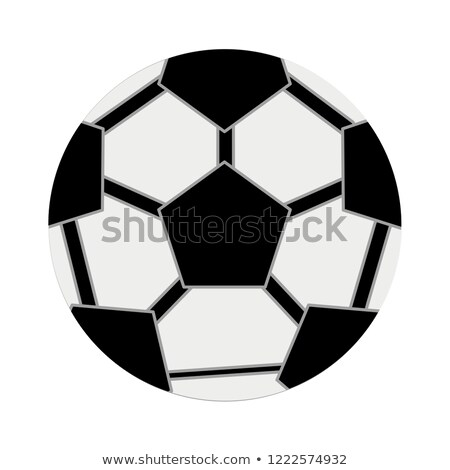 Round Ball to Play Football Vector Illustration Stock photo © robuart