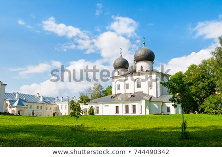 Katedral bayan manastır kilise din stil Stok fotoğraf © borisb17