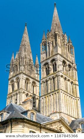 аббатство · Франция · монастырь · французский · город · Нормандия - Сток-фото © borisb17