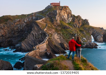 San juan panorama Spanje natuur landschap zee Stockfoto © neirfy