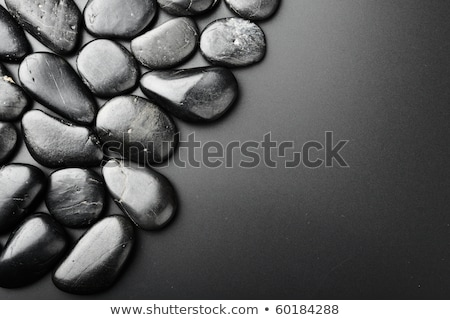 balanced black stones stock photo © jamess