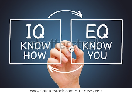 IQ Know How EQ Know You Concept Stock photo © ivelin