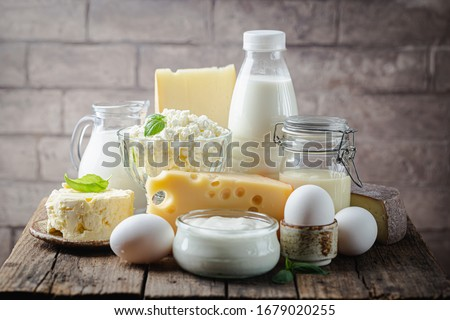 Vidro diferente comida beber Foto stock © Alex9500