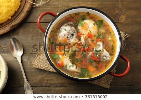 Thai Fish Soup Stock photo © Pheby