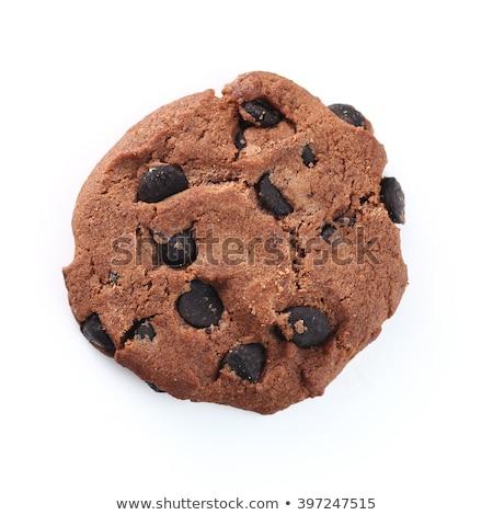 Caseiro chocolate bolinhos combinação preto e branco Foto stock © Peteer