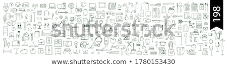 house items stock photo © vectorminator