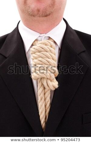 Gallows rope necktie Stock photo © erierika