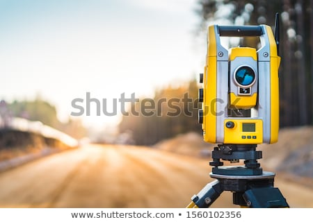 Land surveyor Stock photo © oorka