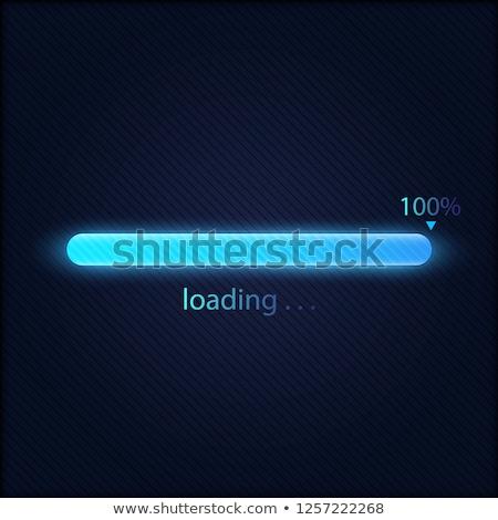 loading bar concept stock photo © archymeder