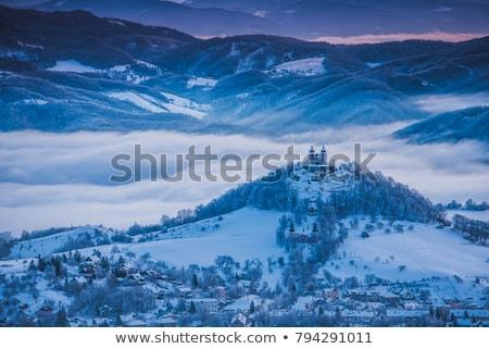 Eslovaquia · ventana · edificios · lámpara · arquitectura · casas - foto stock © phbcz