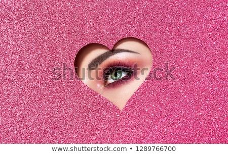 güzel · bir · kadın · moda · sanat · fotoğraf · makyaj - stok fotoğraf © dotshock