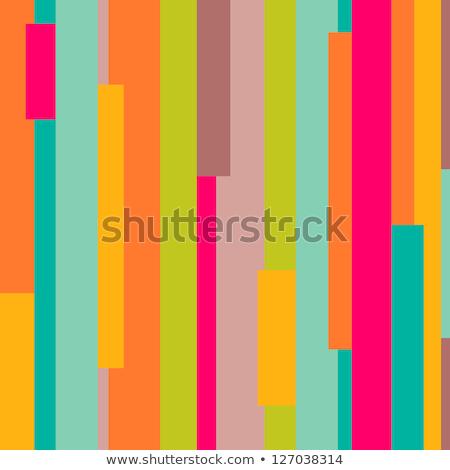 retro colored lines seamless background Stock photo © burakowski