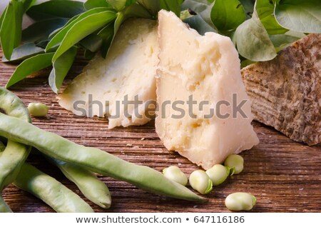 pecorino cheese and broad beans Stock photo © Antonio-S