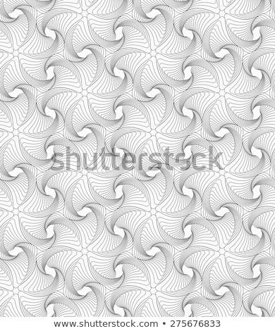 szary · falisty · gwiazdki · monochromatyczny · streszczenie · geometryczne - zdjęcia stock © zebra-finch