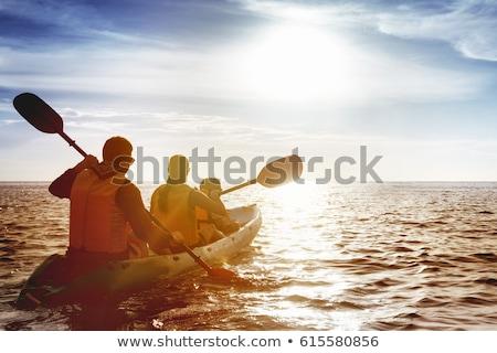 матери · детей · лодка · девушки · дети · ребенка - Сток-фото © Paha_L