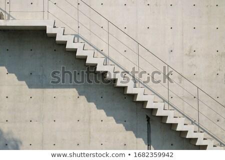 Urban concrete staircase Stock photo © stevanovicigor