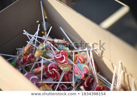 heart shape cardboard stock photo © darkves