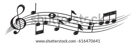 zene · közlöny · tábla · illusztráció · szó · írott - stock fotó © bluering
