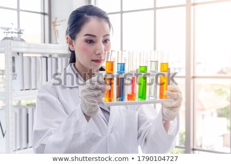 азиатских женщины ученого из научное исследование Сток-фото © szefei
