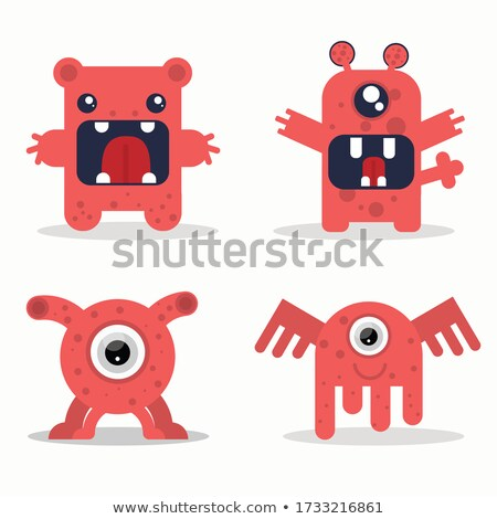 goede · Rood · monsters · held · games - stockfoto © olena