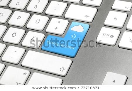 klavye · anahtar · düğme · iş · Internet - stok fotoğraf © tashatuvango