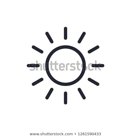 Business sun icon design, logo stock photo © lemony