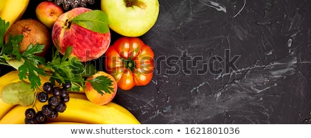 Vegan. Detox. Supermarket product. Healthy colorful food selection Stock photo © Illia